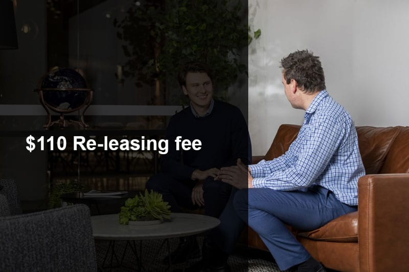 Melbourne Property Management - Re-leasing Fee